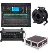 Allen Heath SQ6 + DX168/X rack + Kabel 50m + CASE Bundle One